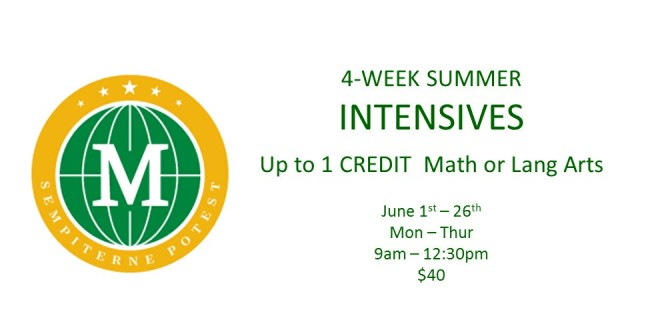 Summer Intensives  Website