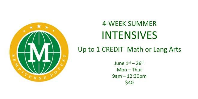 Summer Intensives  Website